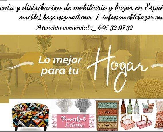 Mobiliario. Venta y distribución de mobiliario y bazar en Europa