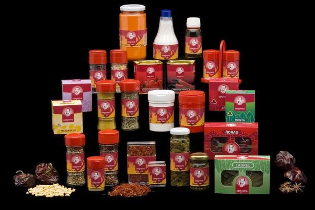 Hierbas y Especias. Gran variedad de productos