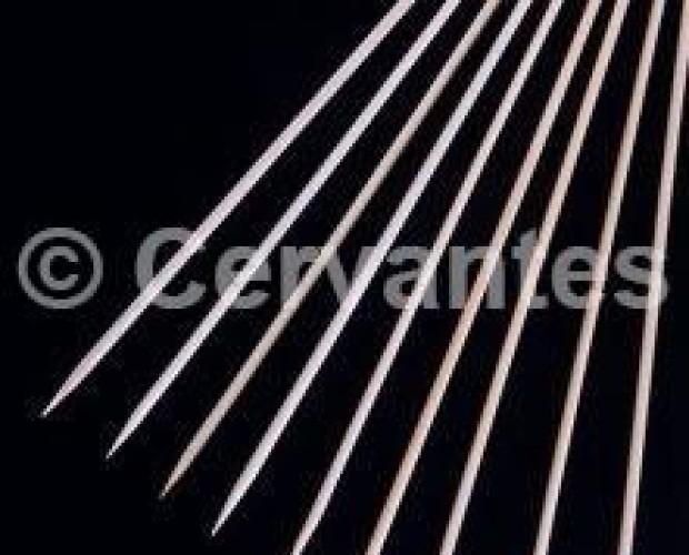 Palillos Bambú. Paquete de 200 palillos para pinchos y brochetas.