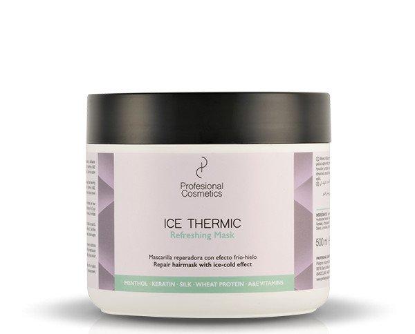 Mascarilla efecto frío. Proporciona una intensa sensación de frescor en el cuero cabelludo
