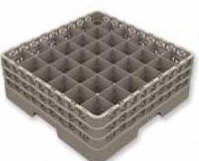Cesta para vajilla de 32 compartimentos. Altura maxima de la copa 240 mmDiametro maximo de la copa o vaso 73 mmPosibilidad de personalizar con el...
