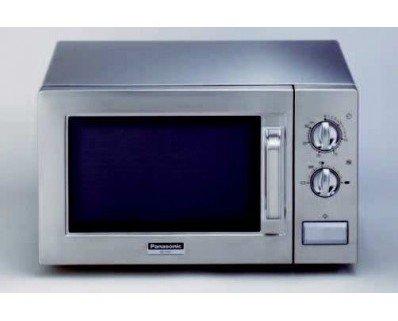 Microondas profesional. Marca Panasonic, modelo NE1027 Nivel de potencia regulable mediante boton giratorio, de 100 a 1.000 W Temporizador con mando giratorio...