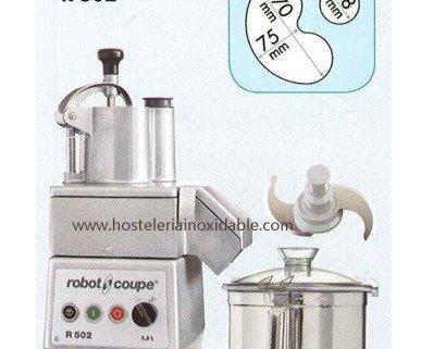 Combinado cortador de hortalizas. Combinado cortador de hortalizas y cutter Marca Robot Coupe Modelo R 502 Potencia 1.000 W Voltaje: trifasico 400 V...