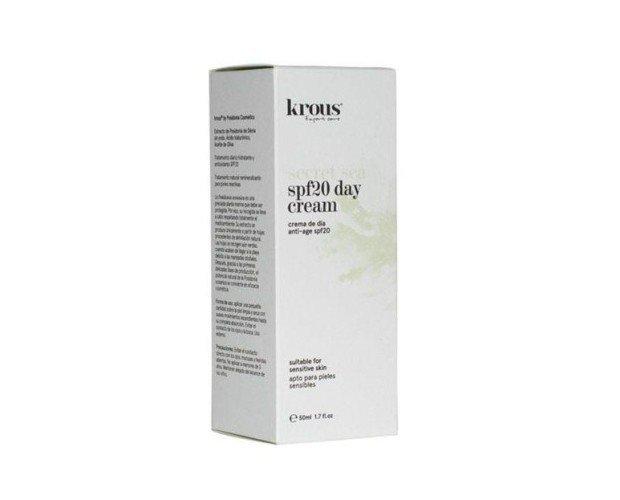 Crema de día anti-edad. Tratamiento facial