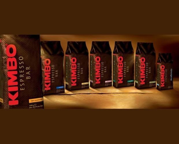 Café espresso bar. Variedad de café en grano