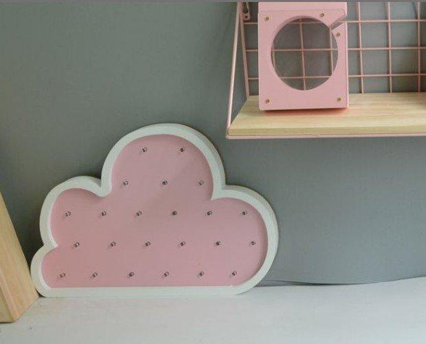 Nube. Nube rosa