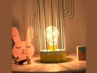 Lámpara y conejito
