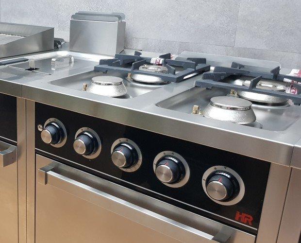 Cocina + Horno. Cocina HR, máxima calidad. Cocinas para tu negocio