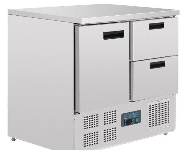 Mostrador refrigerador. Polar
