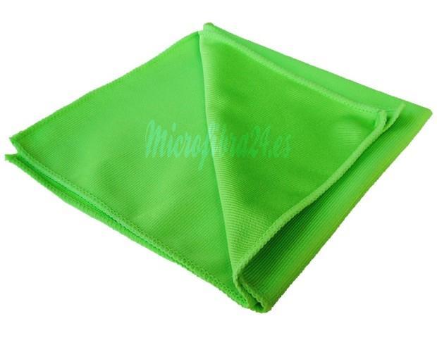 Bayetas.Excelente bayeta para limpiar y abrillantar superficies de crista. Gramaje 300 40x40cm