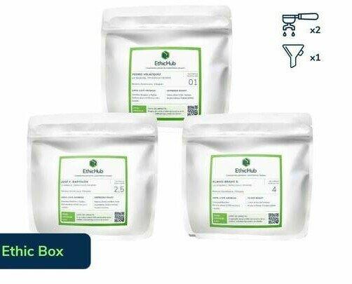 Ethic Box. Café de especialidad de diversos agricultores