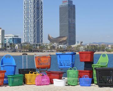 Variedad de cestas. Contamos con una amplia diversidad de cestas de compras