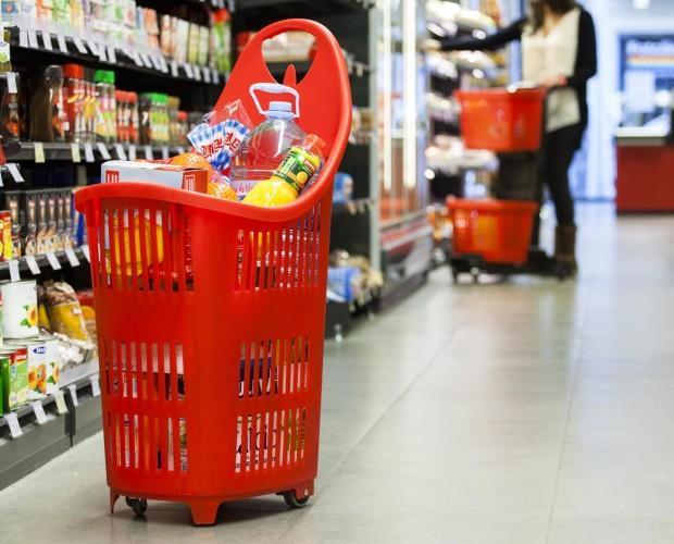 Cestas de Supermercado.Cómodas y fáciles de transportar
