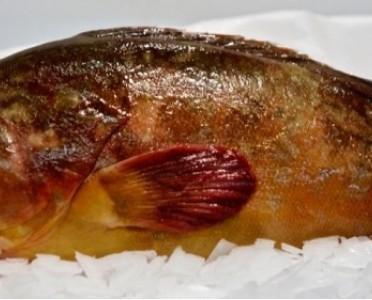 Mero. Este pescado se distribuye bajo pedido