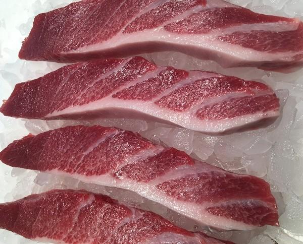 Ventresca de Atún Rojo. Ventresca atún rojo la mas grasienta ,una delicatesen