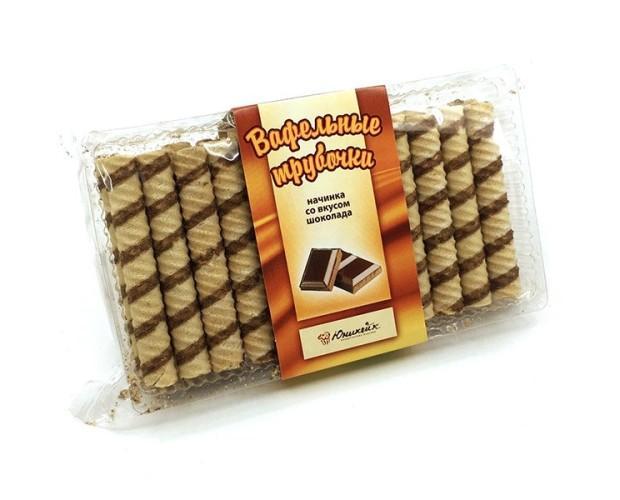 Neula rellena de chocolate