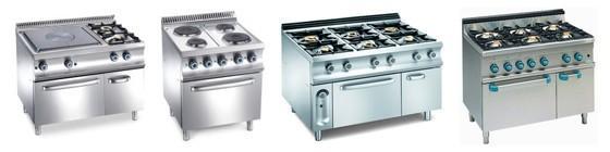 Cocinas Industriales. Maquinaria de cocción