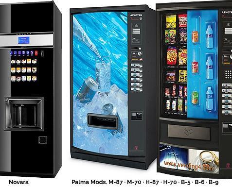 Máquinas de vending. Instalación