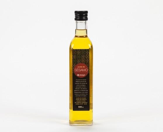 Aceite de Sésamo.Ecológico de 500ml
