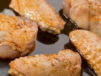 Alitas de pollo adobadas
