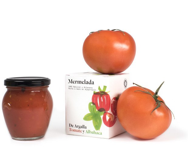 Mermeladas. Mermelada de Tomate y Albahaca