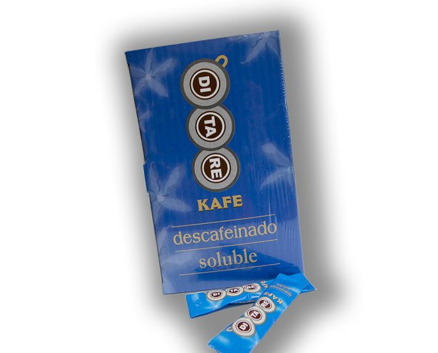 Descafeinado Soluble. Sticks de 200 gramos