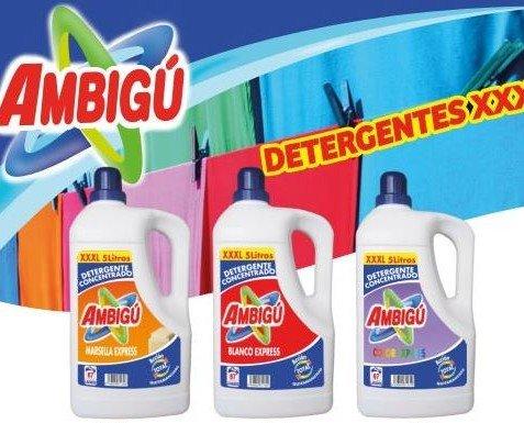 Detergente Ambigú. Fabricación de un detergente para cada lavado