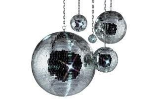 American DJ mirrorball. Bolas de espejos