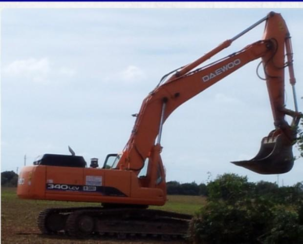 Alquiler de Excavadoras.movimiento de tierra