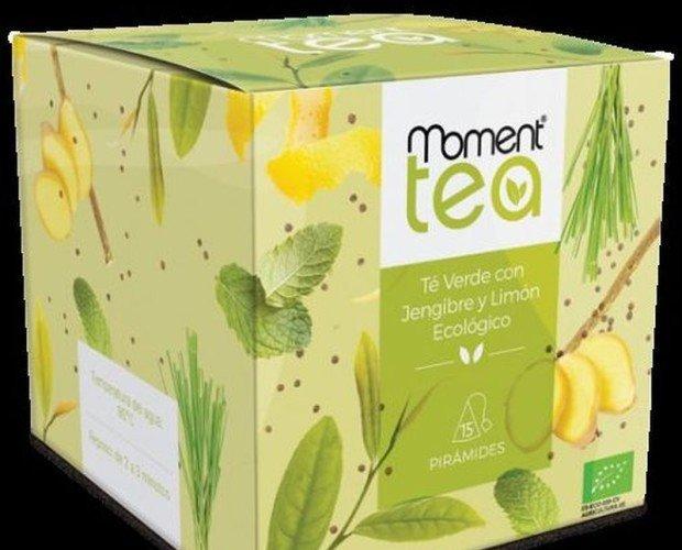 Té verde con jengibre. Destaca por un sabor herbal seco con matices citricos y un final picante