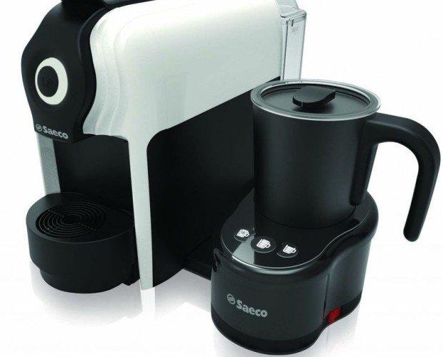 Máquina de café en cápsula. Dosificación automática de café, corto, largo y continuo.