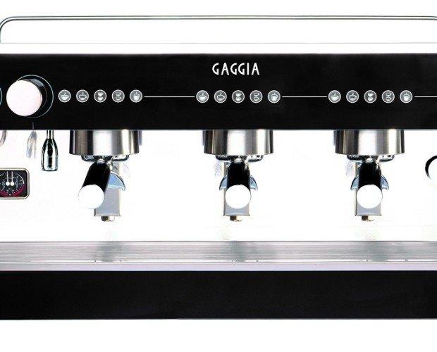 Gaggia Tres Grupos. Maquina de café profesional