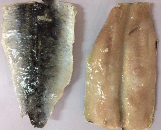 Filete. Filete higienizado(doble piel), a granel o en empaque individual (IQF)