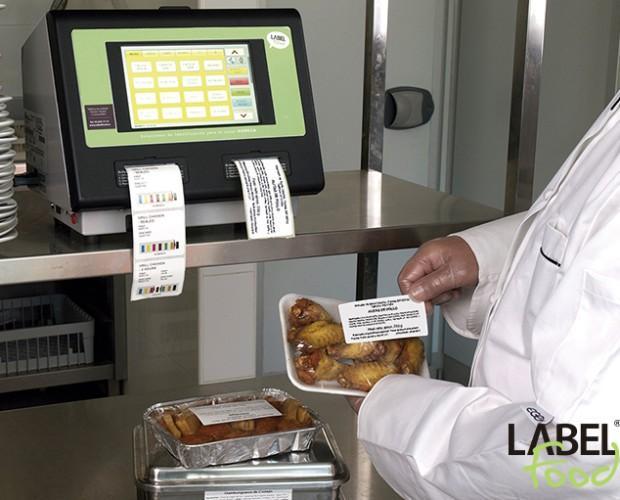 Impresoras de Etiquetas.Impresora 2 en 1 del sector de la trazabilidad alimentaria