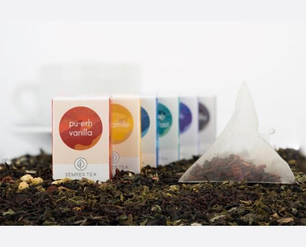 Diversidad de té e infusiones. Gran variedad de sabores, SEMPER TEA conceptos de té para su negocio