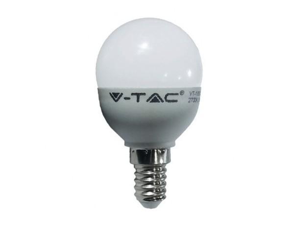 Bombilla de LED E14 4W. De reducida dimensión que permite su instalación en espacios reducidos
