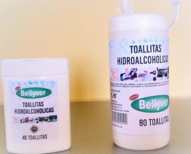 Toallitas Hidroalcoholicas. En formato de 40 y 80 unidades