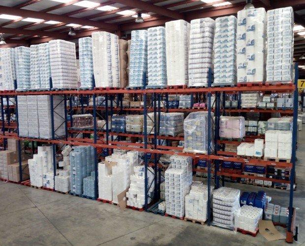 Almacén Sevilla. Más de 16.500 m2 de almacén productos de limpieza