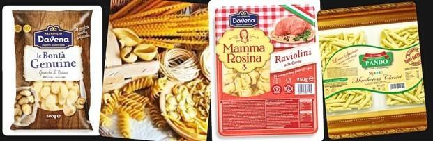 Pasta. Pasta Fresca. Alta calidad, se conservan fuera del refrigerador.