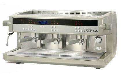 Cafetera Gaggia. Varios modelos de cafeteras