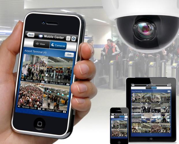 Mobile Center. Servicios de alarma y videovigilancia