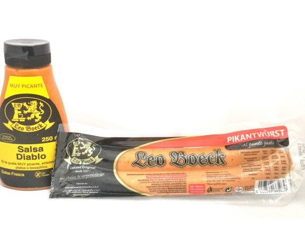 Salsas. Mostaza. Para los clientes que deseen productos picantes, tenemos una amplia oferta.