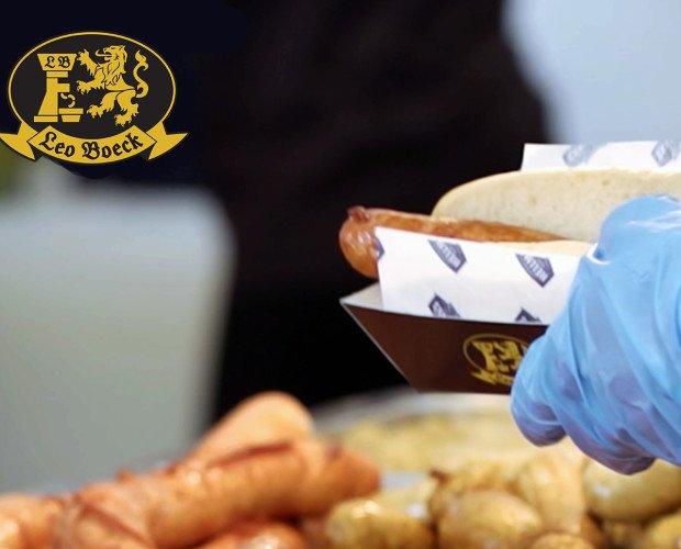 Eventos Gastronómicos. Leo Boeck tiene gran experiencia en proveer salchichas en eventos como Oktoberfest.
