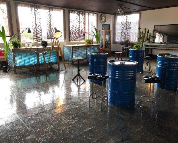 Decoración de Espacio de Trabajo. Se trata de un espacio de trabajo decorado por Alex Berned en Barcelona.