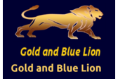 Gold and Blue Lion