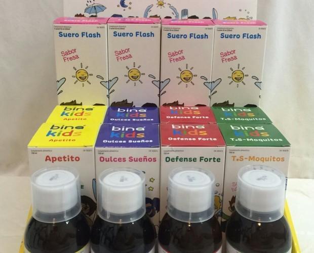 Variedad de jarabes. Productos de calidad y efectividad comprobada