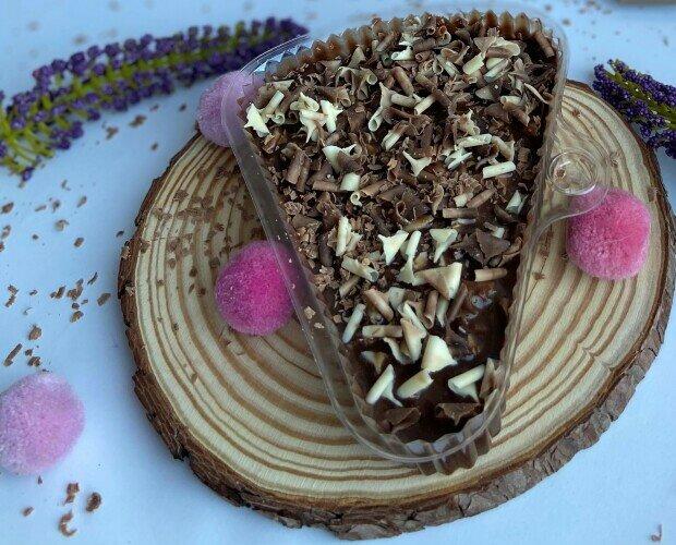 Marquesa de Chocolate. Deliciosa, a base de galletas y mezcla de Chocolate, una de las mas cotizadas.