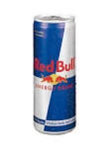 Red bull. Todo tipo de bebidas energéticas