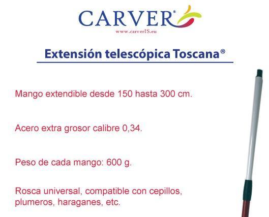 Extension Toscana. Innovador diseño ajustable a cualquier medida