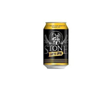 Stone Go to IPA. Cerveza alemana